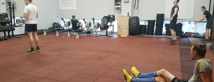 CrossFit Box Prowod is one of Киев.