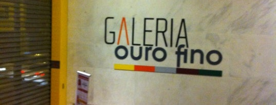 Galeria Ouro Fino is one of SP.