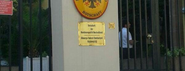 Almanya Büyükelçiliği is one of ANKARA :)).