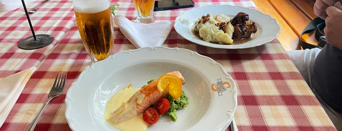 Restaurace a penzion U Sapíků is one of food.