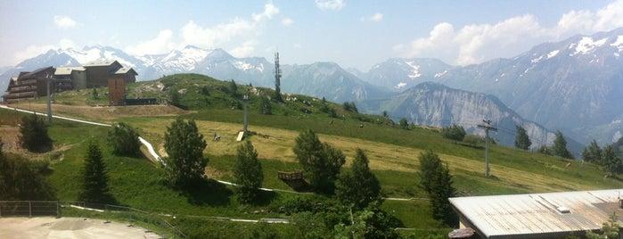 L'Alpe d'Huez is one of Les étapes du Tour de France 2013.