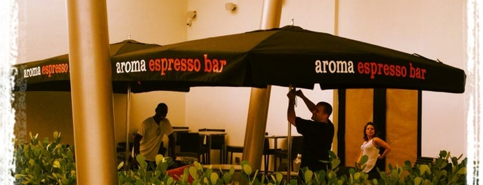 Aroma Espresso Bar is one of Pavlos list.