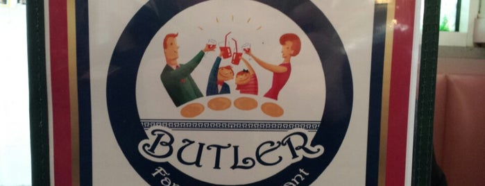 Butler Family Restaurant is one of Lugares guardados de Lizzie.