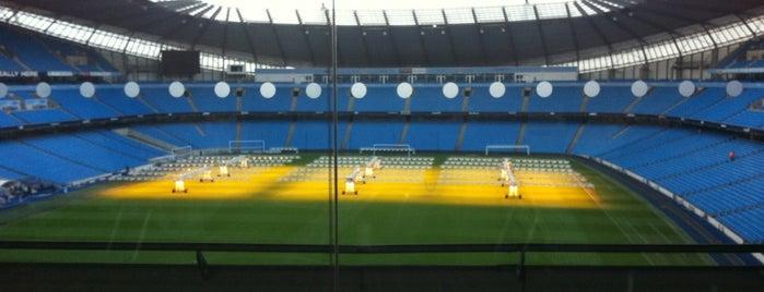 Etihad Stadium is one of Manchester to-do.
