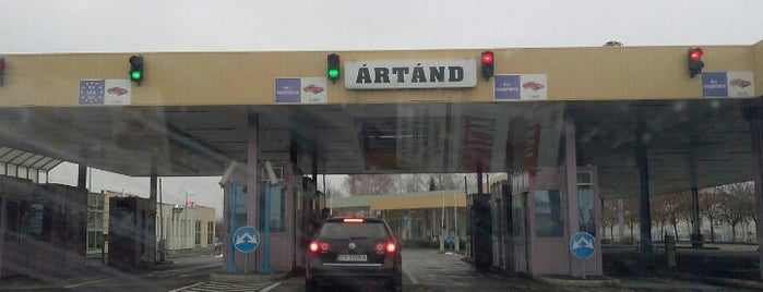 Border Crossing RO --> HU (Borș - Ártánd) is one of Krzysztof : понравившиеся места.