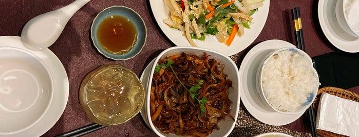 Bông Súng Vegetarian food - coffee is one of HCMC.