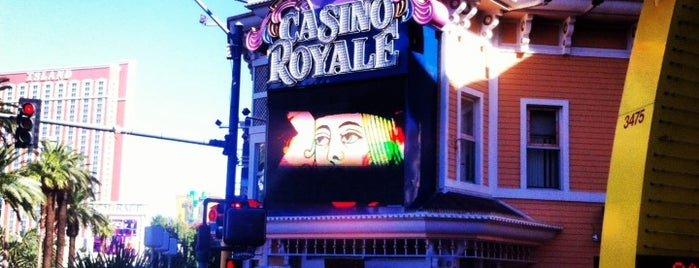 Casino Royale & Hotel, Best Western Plus is one of Vegas Places with Check-In Deals.