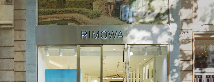 RIMOWA Store Barcelona is one of Barcelona.