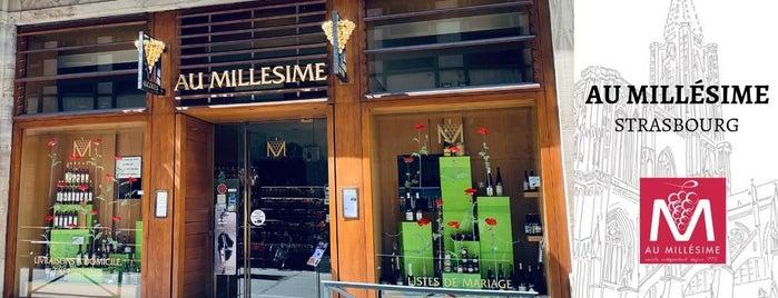 Au Millésime is one of doplnek alsasko.