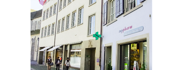 TopPharm Apotheke Paradeplatz AG is one of Zurich: business trip 2014-2015.