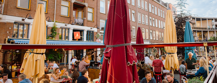 La Cervecería is one of Amsterdam with JetSetCD.
