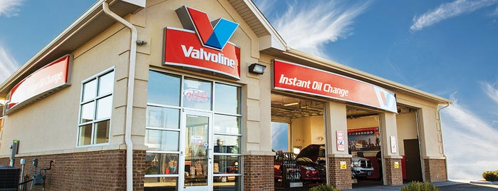 Valvoline Instant Oil Change is one of Lieux qui ont plu à John.