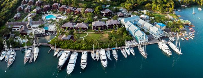 Capella Marigot Bay Resort and Marina is one of Hannahさんのお気に入りスポット.