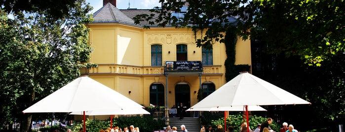 Café in der Schwartzschen Villa is one of Favorites.