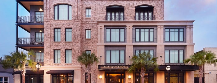 The Spectator Hotel is one of Charleston.