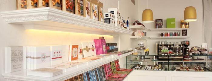 Die Schokoladengalerie is one of สถานที่ที่บันทึกไว้ของ Pepe.
