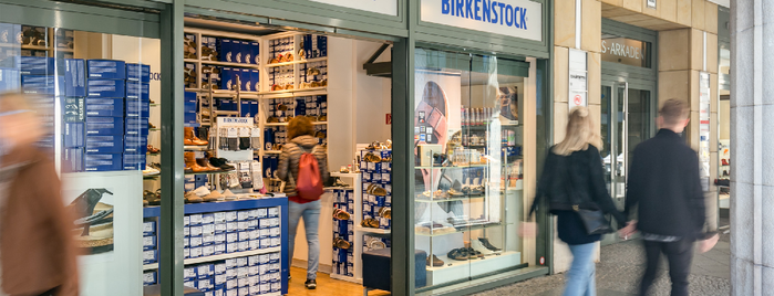 Birkenstock is one of Berlin.