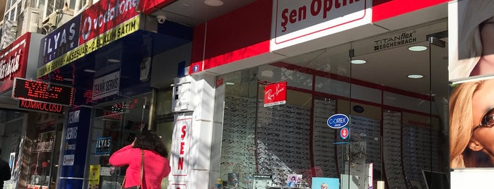 Şen Optik is one of Lieux qui ont plu à Hülya.