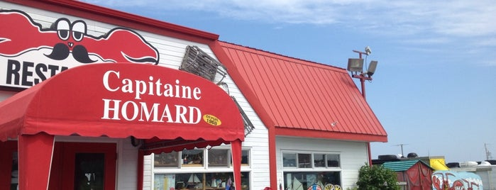 Capitaine Homard is one of Gaspésie.