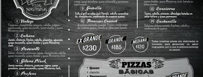 Monsters Pizza is one of Lupis'in Beğendiği Mekanlar.