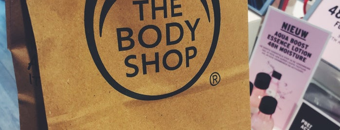 The Body Shop is one of Amsterdam/NL.