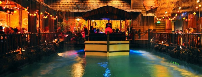 Tonga Room & Hurricane Bar is one of California Fun Times.