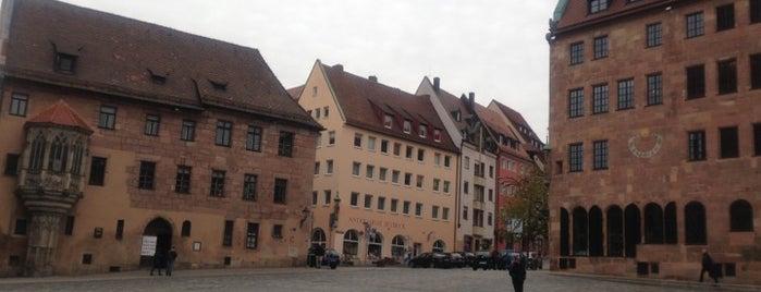 Sebalder Platz is one of Nuremberg's favourite places.