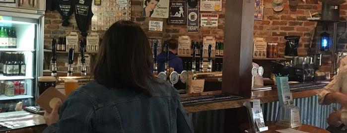 Bush Shack Brewery is one of สถานที่ที่ Nate ถูกใจ.