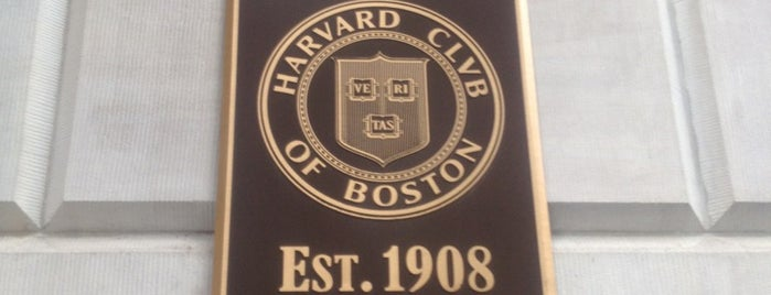 Harvard Club of Boston is one of Bully Boy in Boston.
