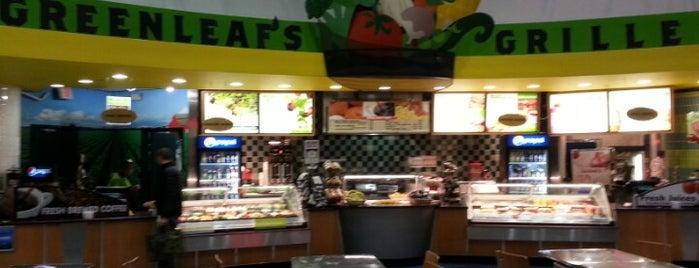 Greenleaf's Grille is one of EWR Terminal C.