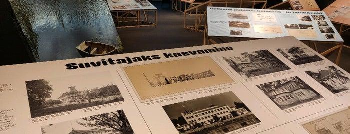 Eesti Arhitektuurimuuseum is one of LoVe in TALLin.