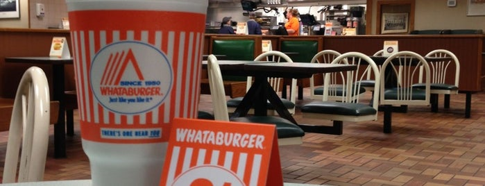 Whataburger is one of I've Been Here.
