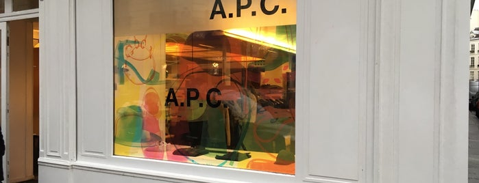 A.P.C. is one of paris.