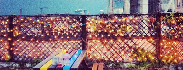 Queen of Hoxton Rooftop is one of Bons plans Londres.