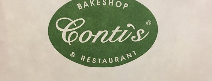 Conti's Bakeshop And Restaurant is one of Posti che sono piaciuti a Shank.