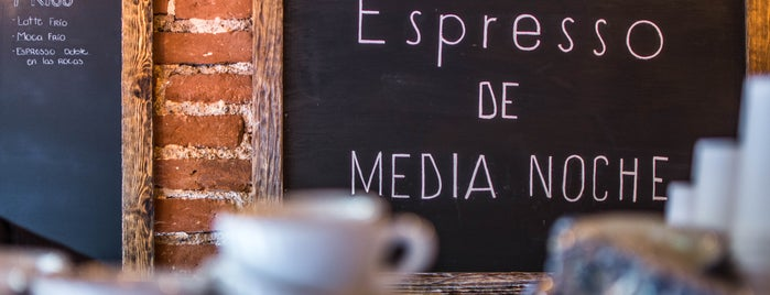 Espresso De Media Noche is one of CDMX need to try.