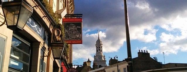 Greenwich Market is one of London Markets & Food Stalls.