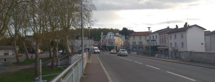 Aire-sur-l'Adour is one of Les chemins de Compostelle.