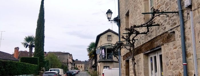 Cardaillac is one of Les plus beaux villages de France.