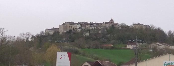 Lauzerte is one of Les plus beaux villages de France.
