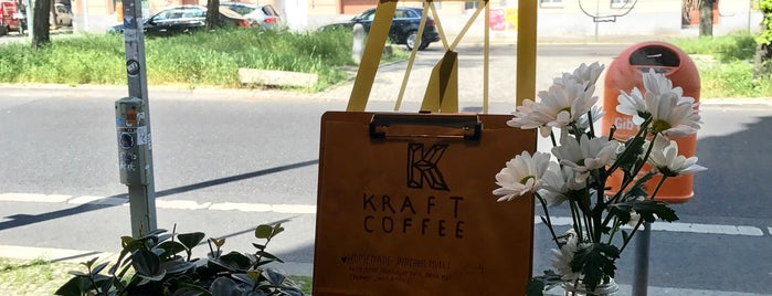Cafe Kraft is one of Berlin Kaffee Kuchen.