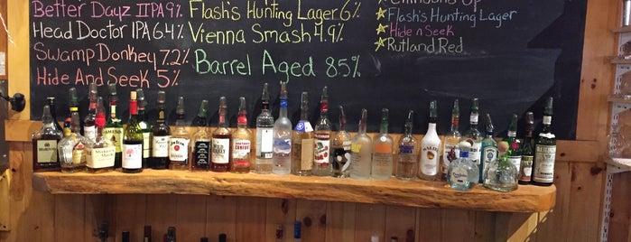 Rutland Beer Works is one of breweries.