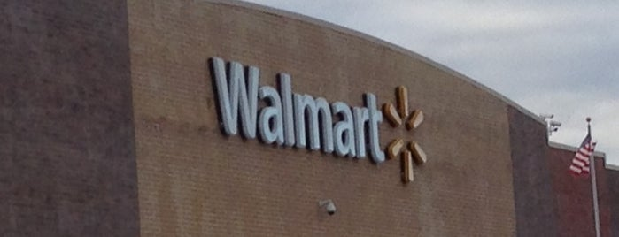 Walmart Supercenter is one of NYC.
