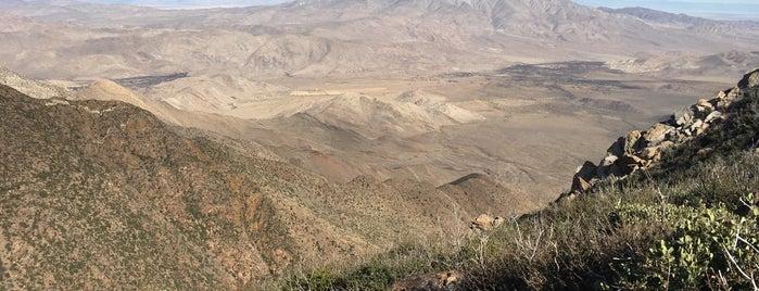 Garnet Peak is one of San Diego.