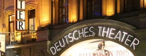 Deutsches Theater is one of Best of Munich.