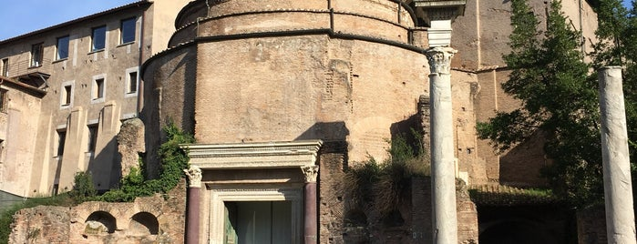 Temple de Romulus is one of Rome.
