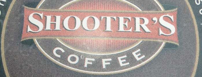 Shooter's Coffee is one of Lieux sauvegardés par Marina.