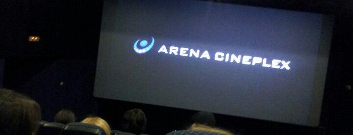 Arena Cineplex is one of NOVI SAD best place.