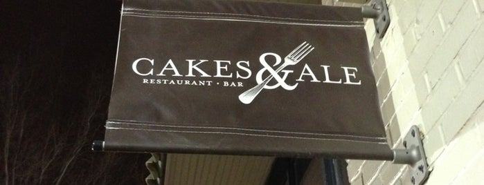 Cakes & Ale Restaurant is one of Atlanta Recommendations.