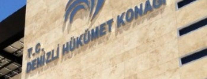 Denizli Hükümet Konağı is one of Türkiye Mimarlık Yıllığı 2012.